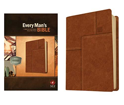 9781414381084: NLT Every Mans Bible Deluxe Messenger Edition LTHLK