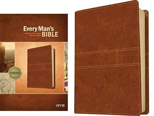 9781414385105: Every Man's Bible NIV, Deluxe Journeyman Edition
