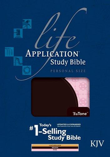 9781414386942: Life Application Study Bible KJV, Personal Size, TuTone (Thumb Index)