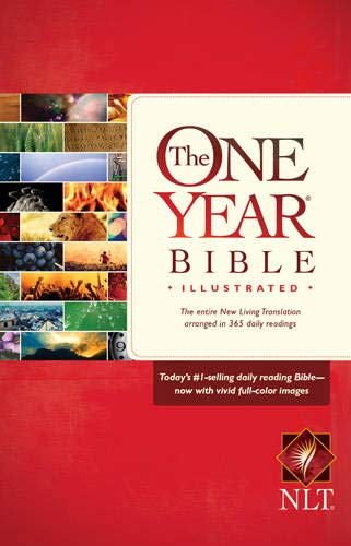 9781414387338: The One Year Bible Illustrated NLT