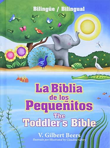 9781414387529: La Biblia de los pequeñitos / The Toddler's Bible (bilingüe / bilingual) (Spanish and English Edition)