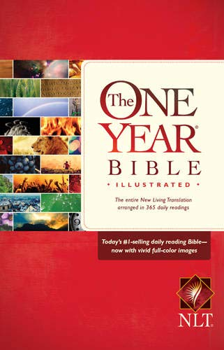 9781414389806: The One Year Bible Illustrated NLT