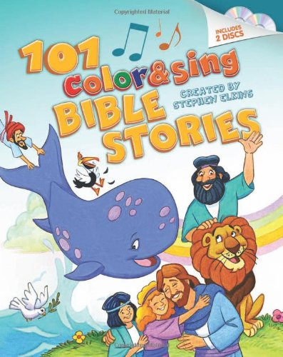 9781414390192: 101 Color & Sing Bible Stories