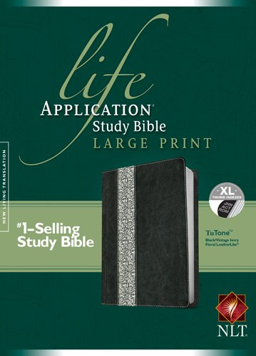 9781414391953: Life Application Study Bible-NLT Large Print