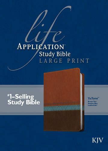 9781414391977: Life Application Study Bible KJV, Large Print