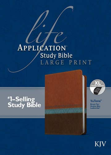Life Application Study Bible-KJV-Large Print (Hardcover)