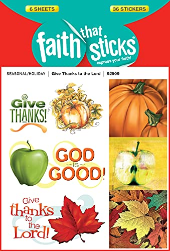 9781414392509: Give Thanks to the Lord (Faith That Sticks)