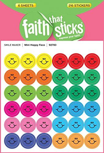 9781414392783: Mini Happy Face (Faith That Sticks)