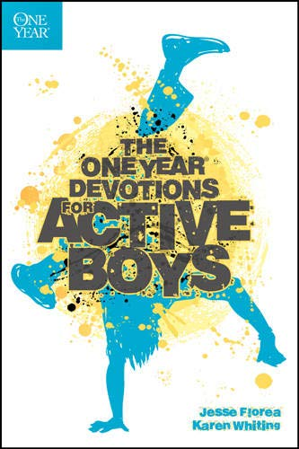 The One Year Devotions for Active Boys (Paperback or Softback)