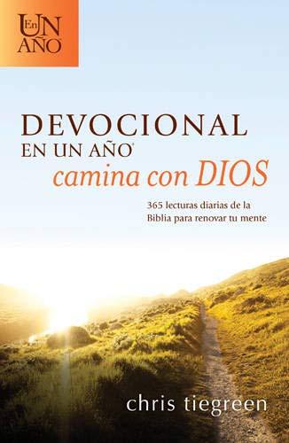 9781414396743: Devocional en un año -- Camina con Dios: 365 lecturas diarias de la Biblia para renovar tu mente (Spanish Edition)