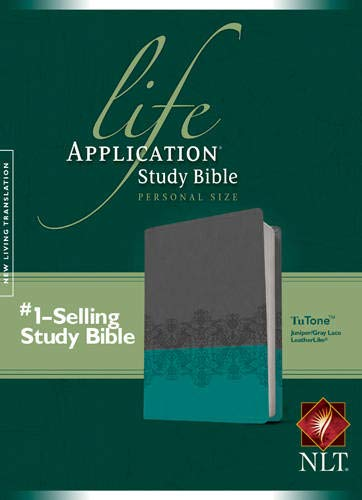 9781414397054: Life Application Study Bible NLT, Personal Size, TuTone