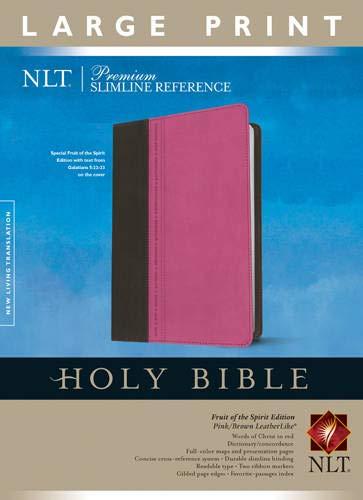 9781414397641: Premium Slimline Reference Bible NLT, Large Print, TuTone(10 point)