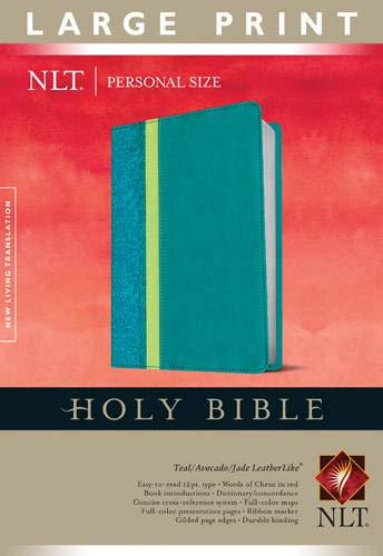 Personal Size Large Print Bible-NLT (Imitation Leather): Tyndale House Publishers