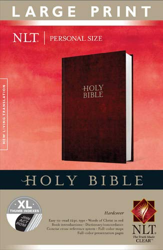 9781414398471: Holy Bible NLT, Personal Size Large Print edition