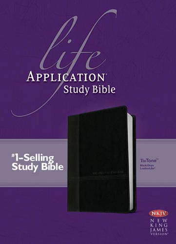 9781414398501: Life Application Study Bible NKJV, TuTone