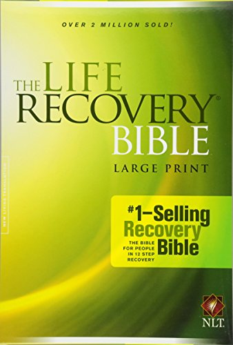 9781414398563: The Life Recovery Bible NLT, Large Print