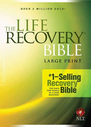 9781414398570: The Life Recovery Bible NLT, Large Print