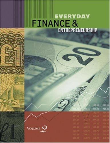 Everyday Finance: Economics, Personal Money Management, and Entrepreneurship (Hardback)