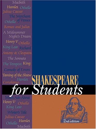 9781414412559: Shakespeare for Students (Shakespeare for Students (3 Vols))