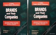 9781414439044: Brands and Their Companies: Consumer Products and Their Manufacturers with Addresses and Phone Numbers (33rd Edition, Two-Volume Set)
