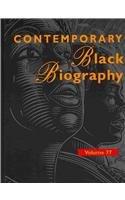 Contemporary Black Biography: Profiles from the International Black Community (Hardback)