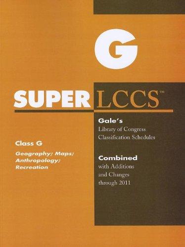 9781414448077: SUPERLCCS: Class G: Georgraphy, Anthropology, Recreation
