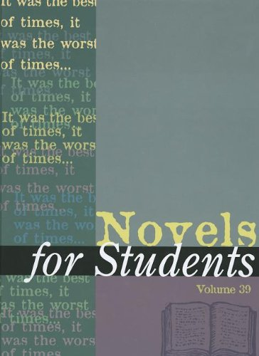 9781414467023: Novels for Students: Presenting Analysis, Context and Criticism on Commonly Studied Novels