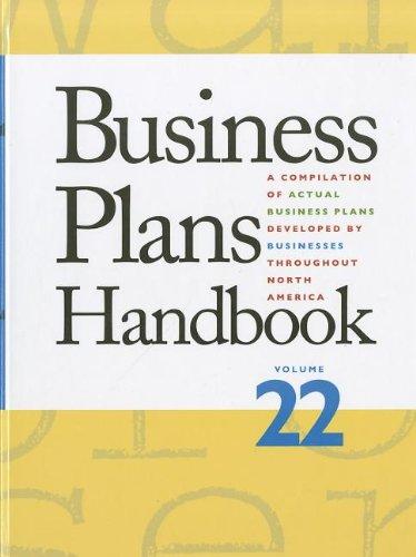 Business Plans Handbook (Buisness Plans Handbook)