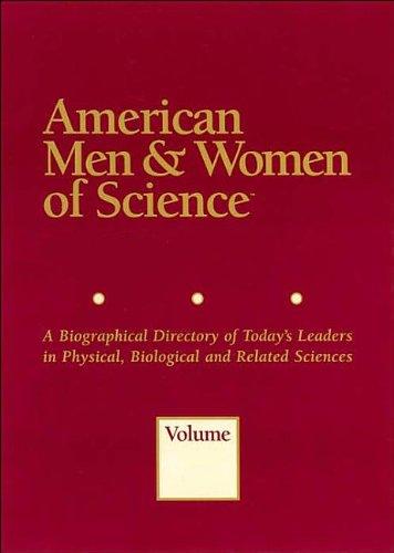 9781414480299: American Men & Women of Science: 8 Volume Set