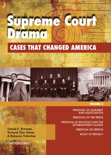 Supreme Court Drama: Cases that Changed America (1414486561) by Corporate Contributor Editor