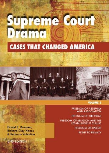 Supreme Court Drama: Cases that Changed America (1414486561) by Daniel E. Brannen