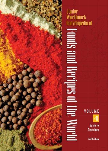 Junior Worldmark Encyclopedia of Foods and Recipes of the World 4 Volume Set (Hardback)