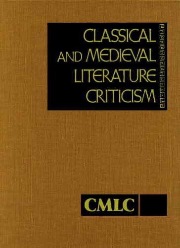 Classical and Medieval Literature Criticism (Hardback)