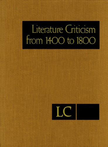 9781414494722: Literature Criticism from 1400 to 1800