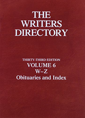 The Writers Directory: St James Press (Corporate Author)