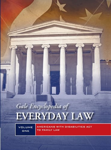 9781414498966: Gale Encyclopedia of Everyday Law: 2 Volume Set