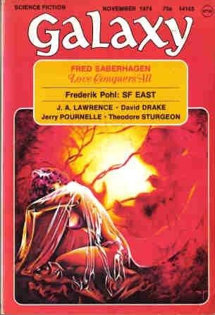 9781415574119: Galaxy Science Fiction - November 1974 (Vol. 35, #11)