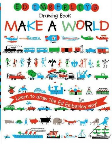 9781415667064: Ed Emberley's Drawing Book: Make A World (Ed Emberley Drawing Books)