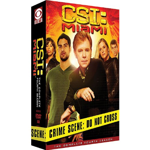 9781415717653: CSI: Miami - The Complete Fourth Season