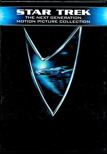 5-dvd Boxed Set : Star Trek the Next Generation Motion Picture Collection Widescreen/region 1