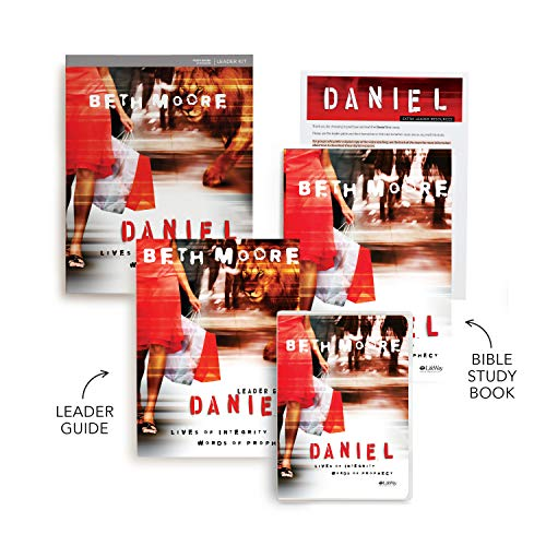 Daniel Leader's Kit with DVDs: Lives of Integrity, Words of Prophecy: Beth Moore
