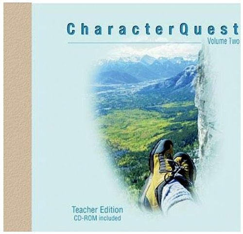 9781415828748: Character Quest (Teacher Edition): Volume 2, Revised