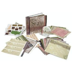 9781415832011: This Is My Story Scrapbook Album & Elements Pack