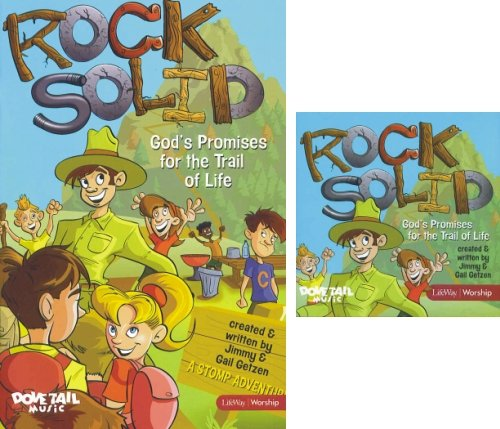 9781415858479: Rock Solid: God's Promises for the Trail of Life (Book & CD)