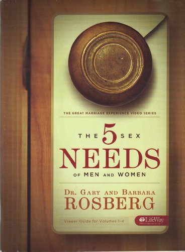 9781415863923: 5 Sex Needs of Men Women Viewer Guide