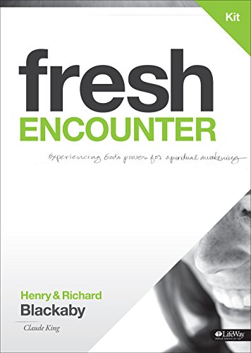 Fresh Encounter- Experiencing God's Power for Spiritual Awakening DVD Leader Kit Revised (1415869227) by Henry T. Blackaby