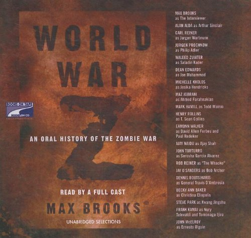 9781415933510: World War Z: An Oral History of the Zombie War (BOT 7124-CD)