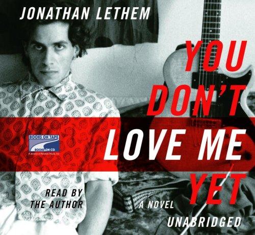 You Don't Love Me (Lib)(CD) (1415935882) by Jonathan Lethem