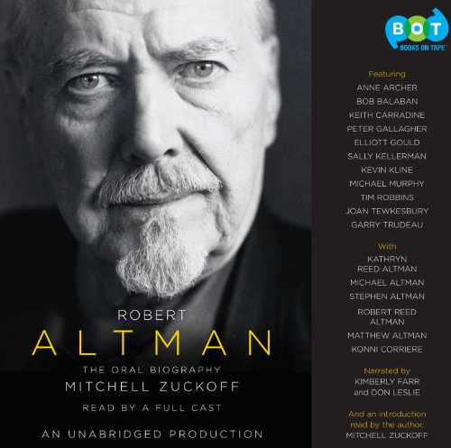 Robert Altman - The Oral Biography -- 15 CD's / Unabridged / 18 Hours: Mitchell ...
