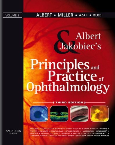 9781416000167: Albert & Jakobiec's Principles & Practice of Ophthalmology: 4-Volume Set (Expert Consult - Online and Print)